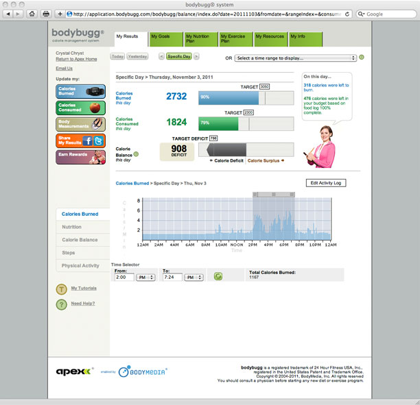 bodybuggSP : Track calories, see results :: Operation Fit